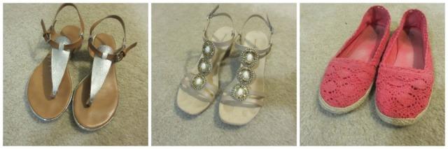 Honeymoon Packing Shoes